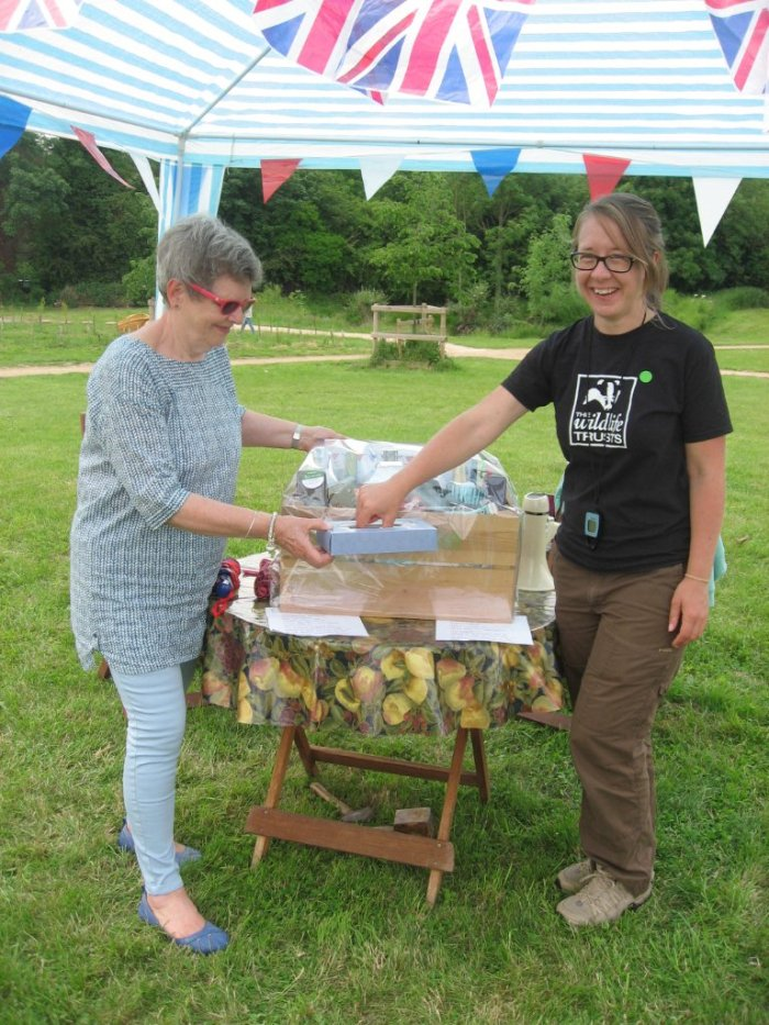 Rebecca Green, WLT Senior Ranger for Trumpington Meadows - drawing for the Waitrose Hamper