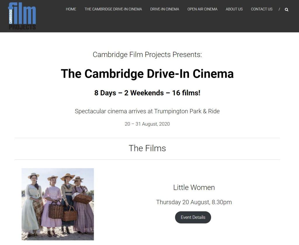 Cambridge Drive-In Cinema